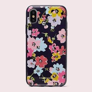 NWT KATE SPADE iPhone X/XSJeweled Wildflower Case
